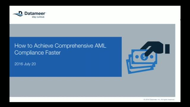 How to Achieve Comprehensive AML Compliance Faster With Modern BI