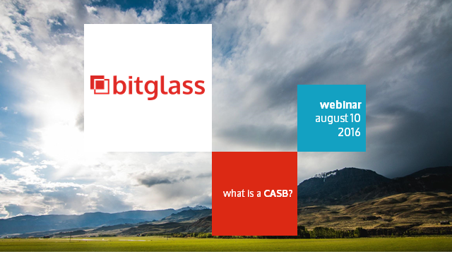 Webinar Express: What is a CASB?