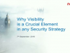Why visibility is a crucial part of any security strategy