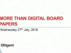 More than Digital Board Papers