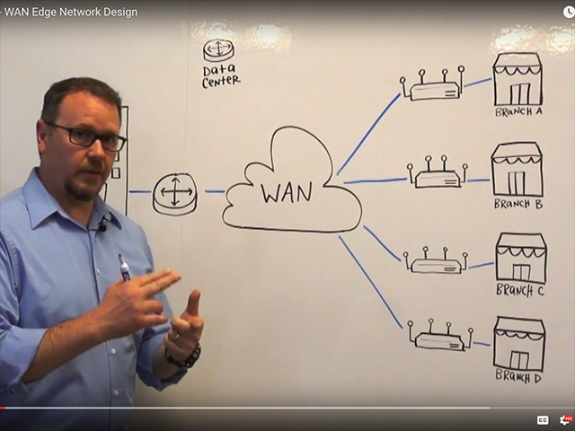 Whiteboard Video Series -- WAN Edge Network Design