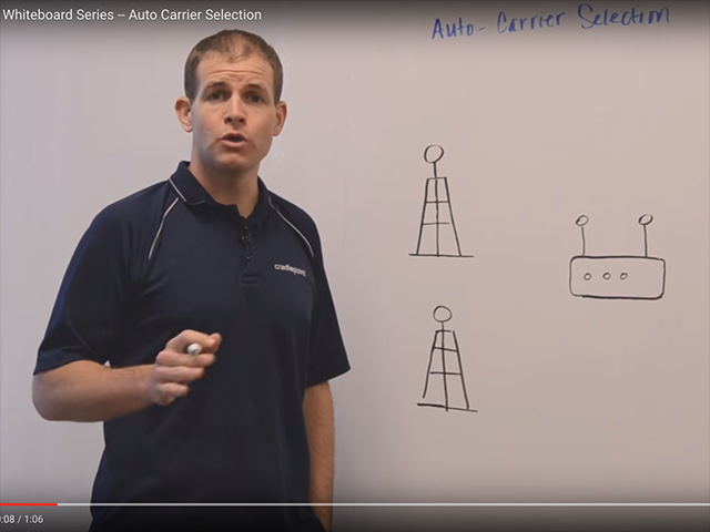 Whiteboard Video Series -- Auto Carrier Selection