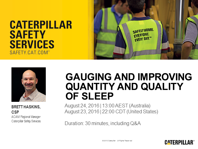 Gauging and Improving Quantity and Quality of Sleep