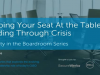 Security in the Boardroom Series: Keeping Your Seat at the Table