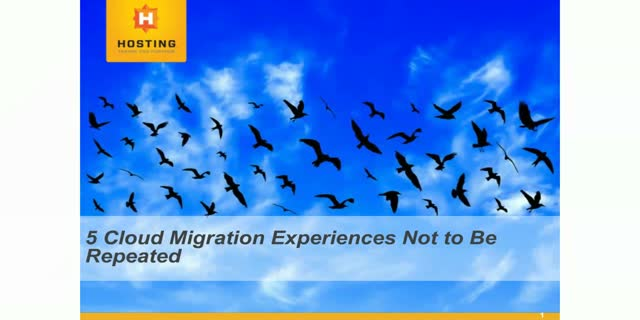 5 Cloud Migration Experiences Not to Be Repeated