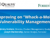 "Improving on ""Whack-a-Mole"" Vulnerability Management"