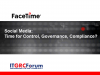 Social Media:  Time for Control, Governance & Compliance?