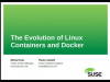 The Evolution of Linux Containers and Docker