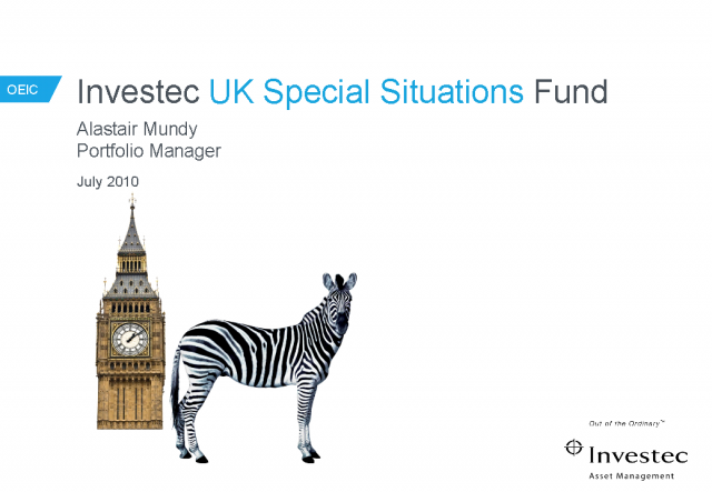 UK OEIC: Investec UK Special Situations Fund Update