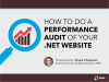 How to Do a Performance Audit of Your .NET Website