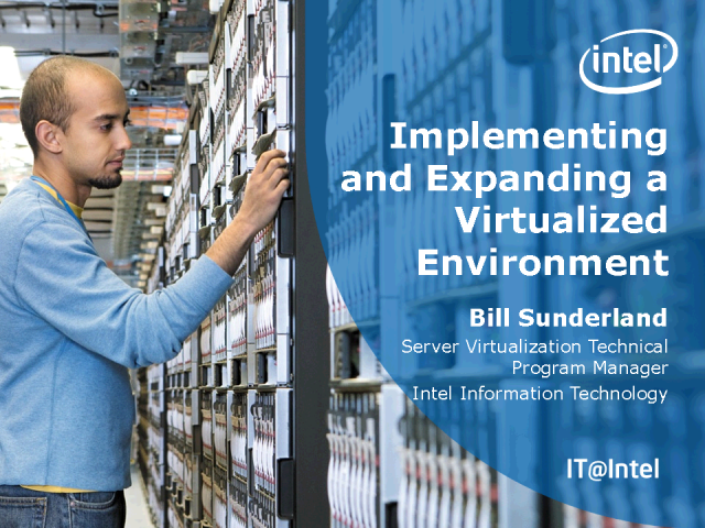Implementing and Expanding a Virtualized Environment