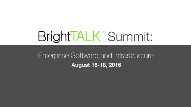 Enterprise Software and Infrastructure Summit Sneak Peek
