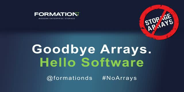 Goodbye Storage Arrays, Hello Software-Defined Storage