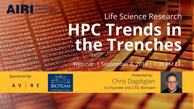HPC Trends in the Trenches Update