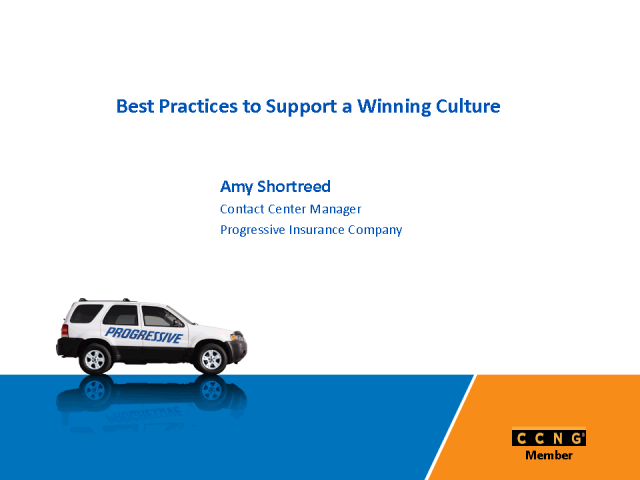 Best Practices to Support a Winning Culture in your Call Center