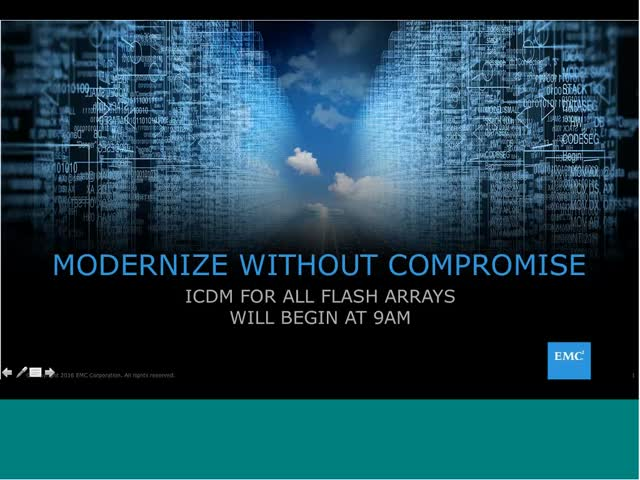 iCDM for All Flash Arrays