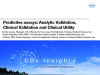 Predictive assays: Analytic validation, clinical validation and clinical utility