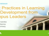 Learning Management 101: Strategies for Implementing an LMS at Your University