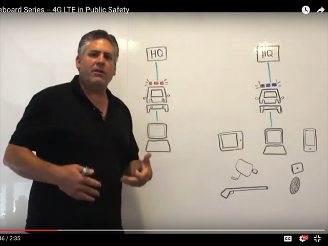 Cradlepoint Whiteboard Series -- 4G LTE in Public Safety