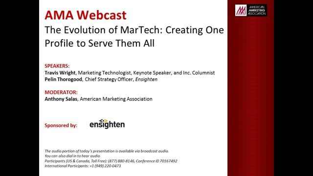 The Evolution of MarTech: Creating One Profile to Serve Them All