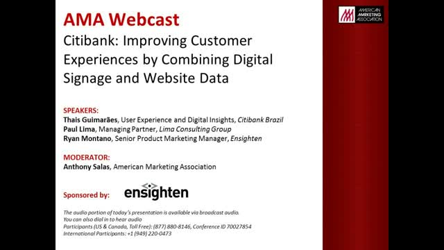 Citibank: Improving Customer Experiences by Combining Data
