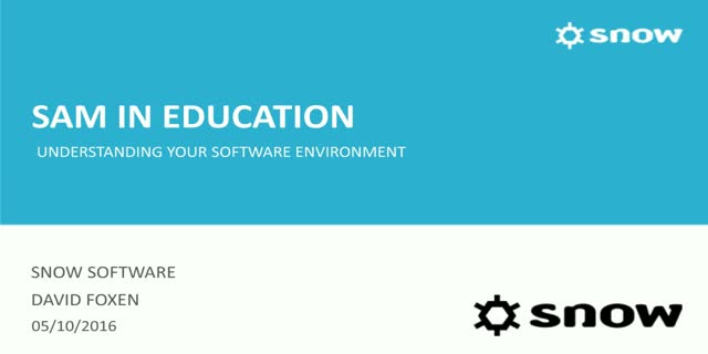 Educational Institutions:Accurate visibility of all software & hardware assets