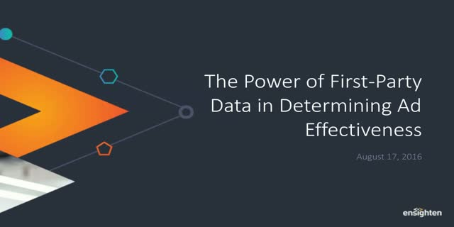The Power of 1st-Party Data in Determining Ad Effectiveness