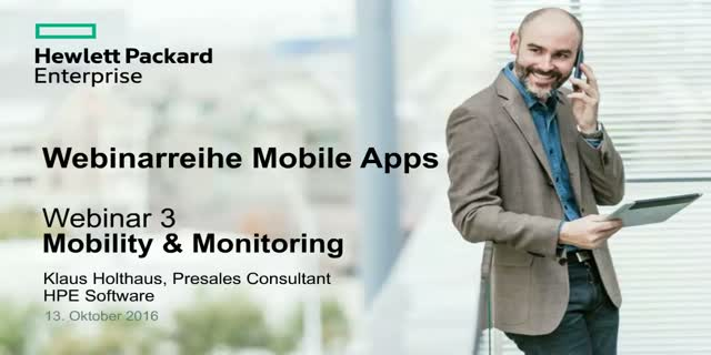 Mobile Apps - Webinar 3: Mobility & Monitoring