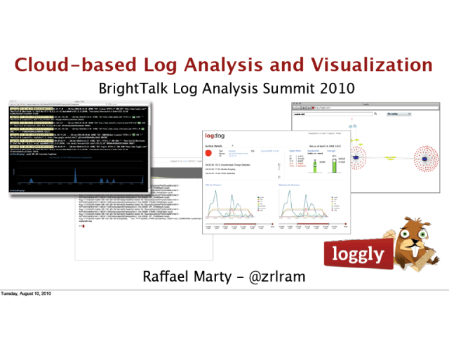 Log Visualization in the Cloud