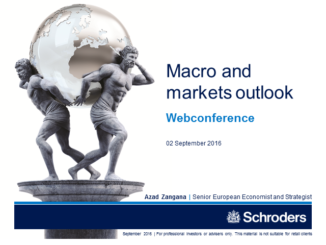 Macro and markets outlook - what next?