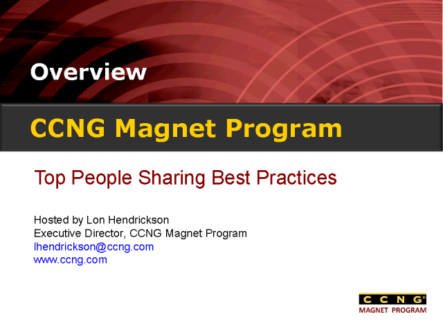 Top People Sharing Best Practices