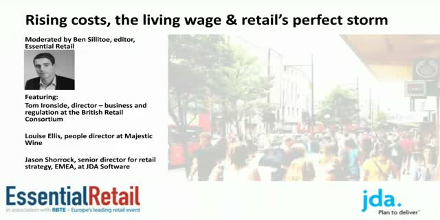 The living wage and retail's perfect storm