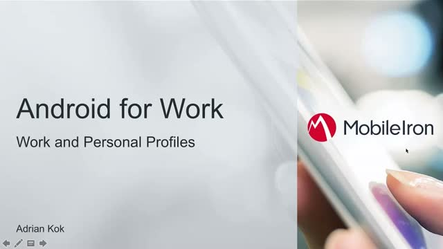 Mobile IT: Securing Android for Work Enterprise and Personal Workspaces