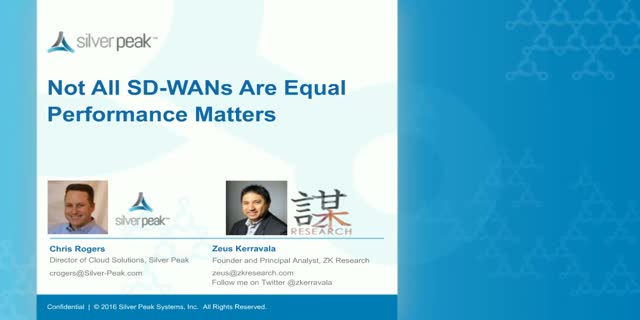 Not All SD-WANs Are Equal. Performance Matters!