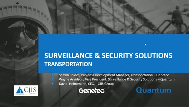 The Future of Surveillance in Transportation & Why Data Management Matters