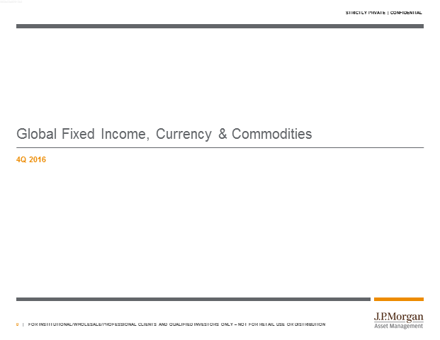 4Q 2016 Global Fixed Income Views with Bob Michele