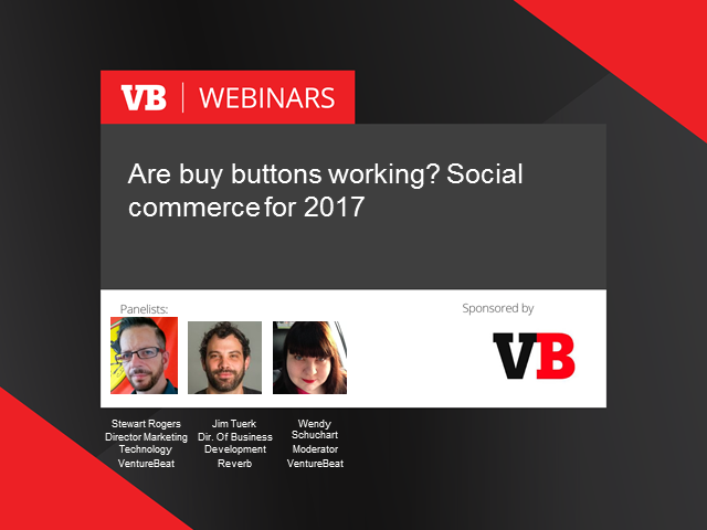 Are buy buttons working? Social commerce for 2017