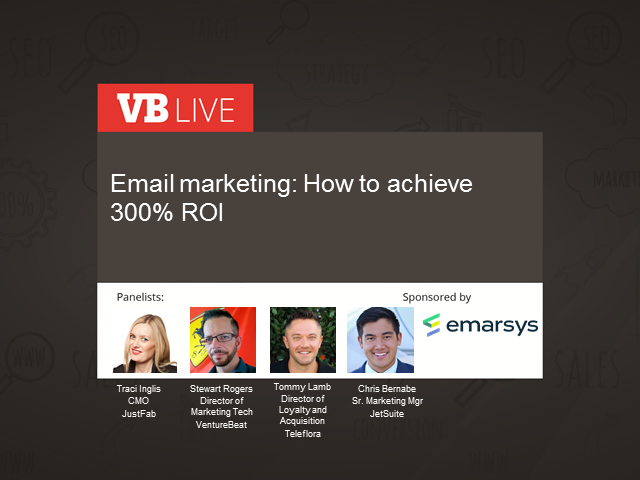 Email marketing: How to achieve 300% ROI