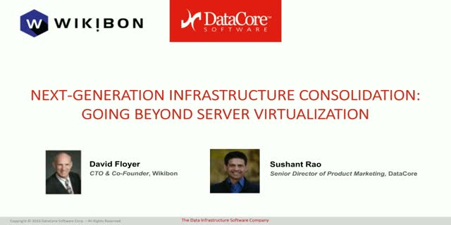 Next-generation Infrastructure Consolidation: Going Beyond Server Virtualization