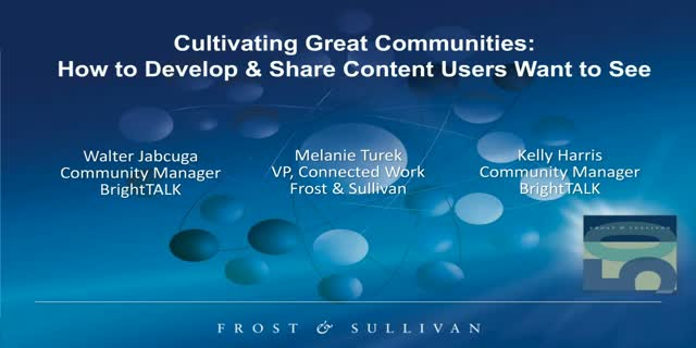 Cultivating Great Communities: How to Develop & Share Content Users Want to See