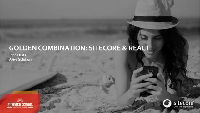 Complex User Interfaces? No problem with Sitecore & React!