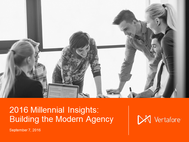 2016 Millennial Insights: Building the Modern Agency