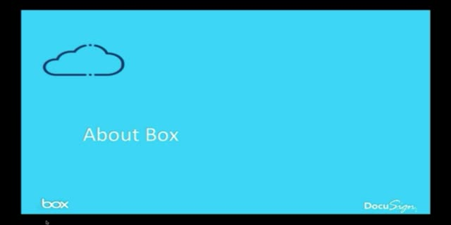Close More Business with DocuSign + Box
