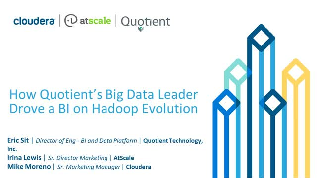 How to Drive A BI on Hadoop Evolution