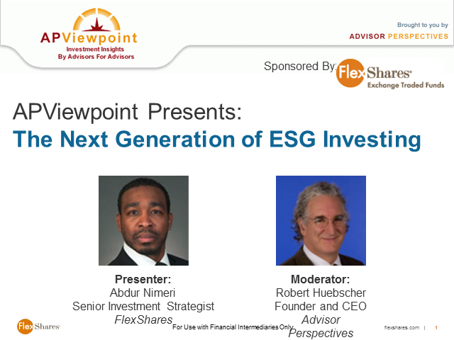 The Next Generation of ESG Investing