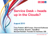 Service Desk: Head up in the Clouds?