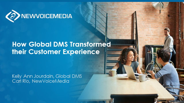 How Global DMS Transformed their Customer Experience