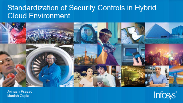 Standardization and visibility of security controls in Hybrid
