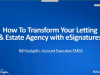 How To Transform Your Letting & Estate Agency with eSignatures
