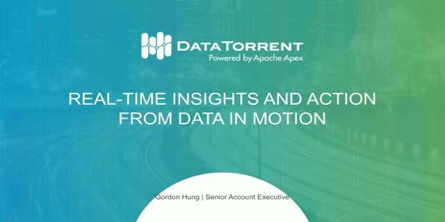 Data in Motion: It All Starts With Ingestion Part 2